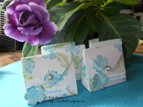 Stippled Blossoms, Envelop Punch Board, Verpackungen, Goodies