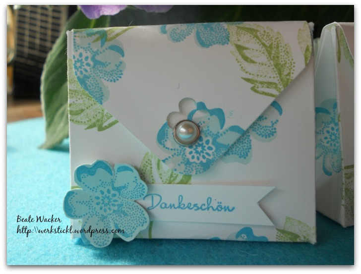 Stippled Blossoms, Envelope Punch Board, Goodies, Verpackung